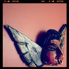 Mexican Folk Art Angel (fridakitten) Tags: mexicanfolkart instagram