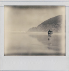 the coast is for lovers (daveotuttle) Tags: oregon coast spectra impossibleproject pz600