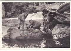 The Perch below the Einig Falls over 60 years ago.
