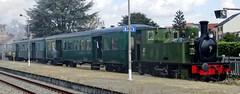SCM Steamlocomotive Bebert with a tourist train. (Franky De Witte - Ferroequinologist) Tags: de eisenbahn railway estrada chemin fer spoorwegen ferrocarril ferro ferrovia
