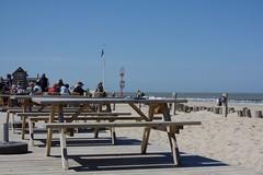 Caricole (dididumm) Tags: blue sky holland beach netherlands sunshine strand spring dune himmel zeeland northsea blau dyke nordsee dike dne cadzand frhling niederlande levee sonnenschein deich strandpaviljoen beachpavilion caricole strandpavillon