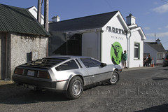 Star Wars v Back To The Future ! (James Whorriskey (Delbert Jackson)) Tags: uk ireland light colour reflection art catchycolors print la photo starwars bucket construction photographer head stones picture structures slide photograph londonderry northernireland crown delorean filming derry donegal backtothefuture ulster malin malinhead inishowen millenniumfalcon bambas impressionsexpressions aroundus jameswhorriskey delbertjackson jameswhoriskey jameswhorriskeyphotography