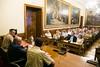 Visita al Senado de los participantes en CESEDEN 17