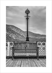 For Lorraine (andyrousephotography) Tags: family friends love plaque pier memories benches llandudno dedications northwales
