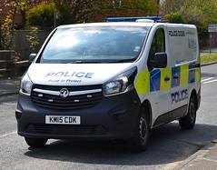 KM15CDK (Cobalt271) Tags: dog proud police northumbria vehicle to 16 protect vauxhall livery vivaro cdti km15cdk