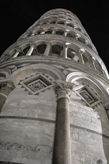 Leaning Tower of Pisa 4 (chriswalts) Tags: travel sunset italy streets tower night pisa leaning