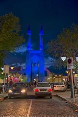 View of Masjed Jame from the street (T   J ) Tags: nikon iran d750 yazd teeje nikon2470mmf28