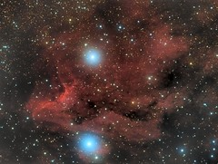 Pelican Nebula (AllAboutRefractors) Tags: astrophotography astronomy refractor nebulae