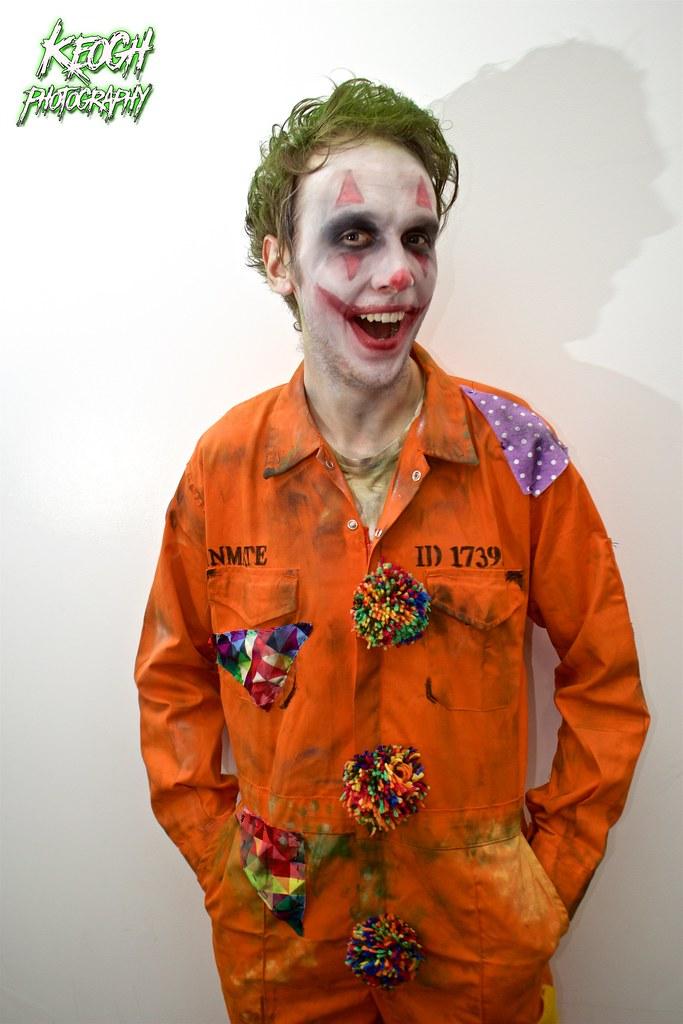 Convict Face Paint