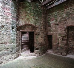 Edzell Castle (13) (arjayempee) Tags: castle scotland angus fortress towerhouse northesk forfarshire edzellcastle glenesk earlofcrawford lindsayofedzell courtyardcastle mounthpasses edzellcastlegardens av6a538889stitch stirlingofglenesk baronyofglenesk