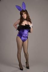 Full body playboy bunny (Jamie Gibson CD) Tags: bunny transgender playboy crossdresser