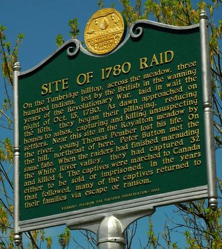 Site of 1780 Raid