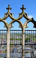 Utrecht, boven in de Domtoren, Nederland 2016 (wally nelemans) Tags: holland utrecht domtoren cathedral nederland thenetherlands kathedraal 2016