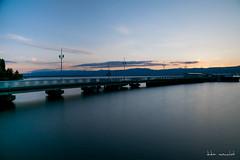Le port (Didier Mouchet) Tags: longexposure water landscape nikon eau lac lman paesaggio calme hautesavoie lakeofgeneva thonon thononlesbains laclman chablais leport poselongue   d5300    didiermouchet   lang~~postrunc