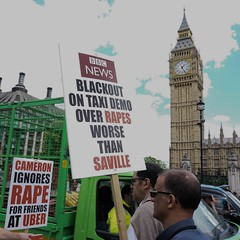 London Taxi Driver's Protest 24 June 2016 (richardsos@yahoo.com) Tags: street uk england black london westminster june square cab taxi protest 2016 parlaiment