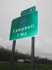 Interstate Sign Close Up (Random Retail) Tags: ny sign campbell 2016 i86