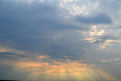 Forever (rajneet4) Tags: clouds sunset sunrays landscape macro serene view beautiful