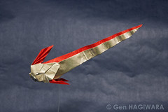 / Giant Oarfish (Gen Hagiwara) Tags: fish art paper origami sealife gen oarfish hagiwara foding ryugunotsukai