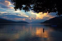 IMG_7405.jpg (Arne J Dahl) Tags: sunset clouds canon austria outdoor views skyer solnedgang vand strig dbriach krten canon5dmarkll campingbrunner