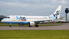 Flybe Embraer 175 G-FBJH (StephenG88) Tags: manchesterairport man egcc 23l 23r boeing airbus 24thmay2016 21616 62616 embraer e175 ejet gfbjh flybe flb be