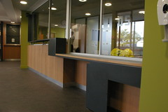 NHS Reception Desk
