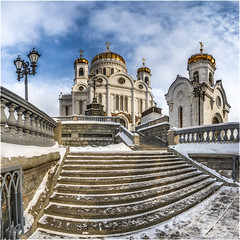 (a.Kry) Tags: panorama building church architecture russia moscow pano chapel countries  orthodoxchurch            religionbuilding  akryphotoart christianbulding