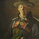"<b>Peasant of Setesdalen</b><br/> Ben Blessum (1877-1954) ""Peasant of Setesdalen"" Oil, n.d. LFAC #067<a href=""http://farm8.static.flickr.com/7189/6779985454_7c89c4ceee_o.jpg"" title=""High res"">∝</a>"