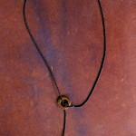 copper & glass bead lariat thumbnail