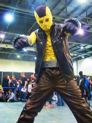 IMG_1131 (the_gonz) Tags: costumes london dc cosplay spiderman convention superheroes shocker marvel villain marvelcomics excel theshocker londonsupercomicconvention