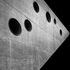 cracow aviation museum (Rzoog) Tags: abstract architecture concrete circles poland mimoa muzeumlotnictwa bartomiejkisielewski pysallrugearchitekten aviationmuseumcracow