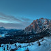 View over San Cassiano