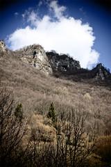 Mountain detail (Giorgio Maraia) Tags: sky cloud mountain nature canon landscape nuvola natura verona cielo montagna paesaggio lessinia giazza