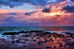 Sunset (Theophilos) Tags: sunset sea sky nature clouds rocks crete rethymno κρήτη φύση σύννεφα θάλασσα δύση βράχια ρέθυμνο ουρανόσ