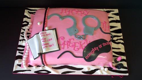 Yvettes Dirty 30 Cake