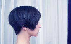 head (difsus) Tags: selfportrait girl hair head sideview