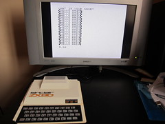 Sinclair ZX80 (inc fancy graphics chars ;-)) (Rain Rabbit) Tags: sinclair zx80