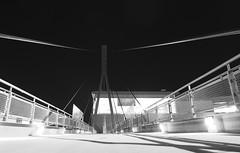 Wooska (bart_gogol) Tags: warsaw by night lumix dmclx5 ooska domaniewska galeriamokotow mokotow galeria kadka bridge