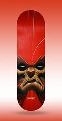 Beast-Man (emy mariani) Tags: skate acrilico beastman emymariani