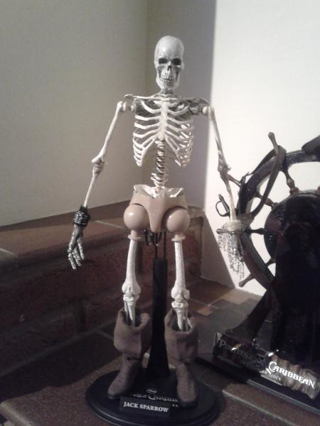 被詛咒的骷髏僵屍傑克船長!