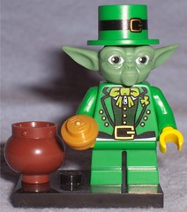 Yodaprechaun (Darth Ray) Tags: star yoda lego wars leprechaun yodaprechaun