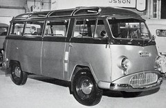 Jensen Tempo Combi (colinfpickett) Tags: blackandwhite famous memories nostalgia 1950s nostalgic 1960s iconic rare jensen classictruck vintagetruck daysgone classicvan