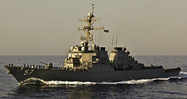 USS Mitscher DDG-57