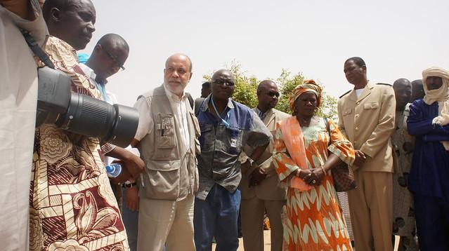 Entretiens: représentants des organisations humanitaires et déplacés   © EC/ECHO/CYPRIEN Fabre
