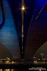 Under Kingston Bridge (DMeadows) Tags: lighting city longexposure bridge urban reflection night buildings reflections river landscape evening scotland riverclyde clyde lowlight cityscape motorway streetlights glasgow nightshoot kingston m8 kingstonbridge springfieldquay davidmeadows kamerakazi dmeadows davidameadows dameadows yahoo:yourpictures=waterv2 yahoo:yourpictures=yourbestphotoof2012 yahoo:yourpictures=reflectionsv2 yahoo:yourpictures=light