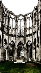 Abside (Giulia_) Tags: france pierre ruine glise gothique picardie abside abbatiale cistercien mar12 ourscamp