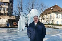 2012 02 22 c Fribourg FR Switzerland 1700 - Fontaine Tinguely-11 Me (pierre-marius M) Tags: me switzerland pierre fribourg pm fr fontaine tinguely 1700 pmm pierremarius