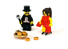 Dressing Up For The Occasion (Cam M.) Tags: red money up gold cool dress lego awesome rich poor tuxedo british minifigs epic attire teaandcrumpets chipchipcheerio allogovna