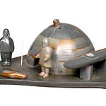 "<b>Igloo on Platform</b><br/> Zebedee Enoogoo (1931-) ""Igloo on Platform"" Stone, ca. late 1960's LFAC #1994:01:03<a href=""http://farm8.static.flickr.com/7189/6852407735_eeaac19af7_o.jpg"" title=""High res"">∝</a>"