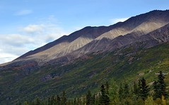 Ribbon of light across a mountain - Denali National Park, Alaska landscape (blmiers2) Tags: travel light mountain alaska landscape nikon ribbon denali d3100 blm18 blmiers2