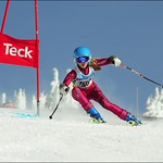 Big White Racer Hannah Walline at 2012 K1 Provincials PHOTO CREDIT: Gavin Crawford